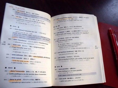 フランス語重要表現・熟語集;前の説明部分