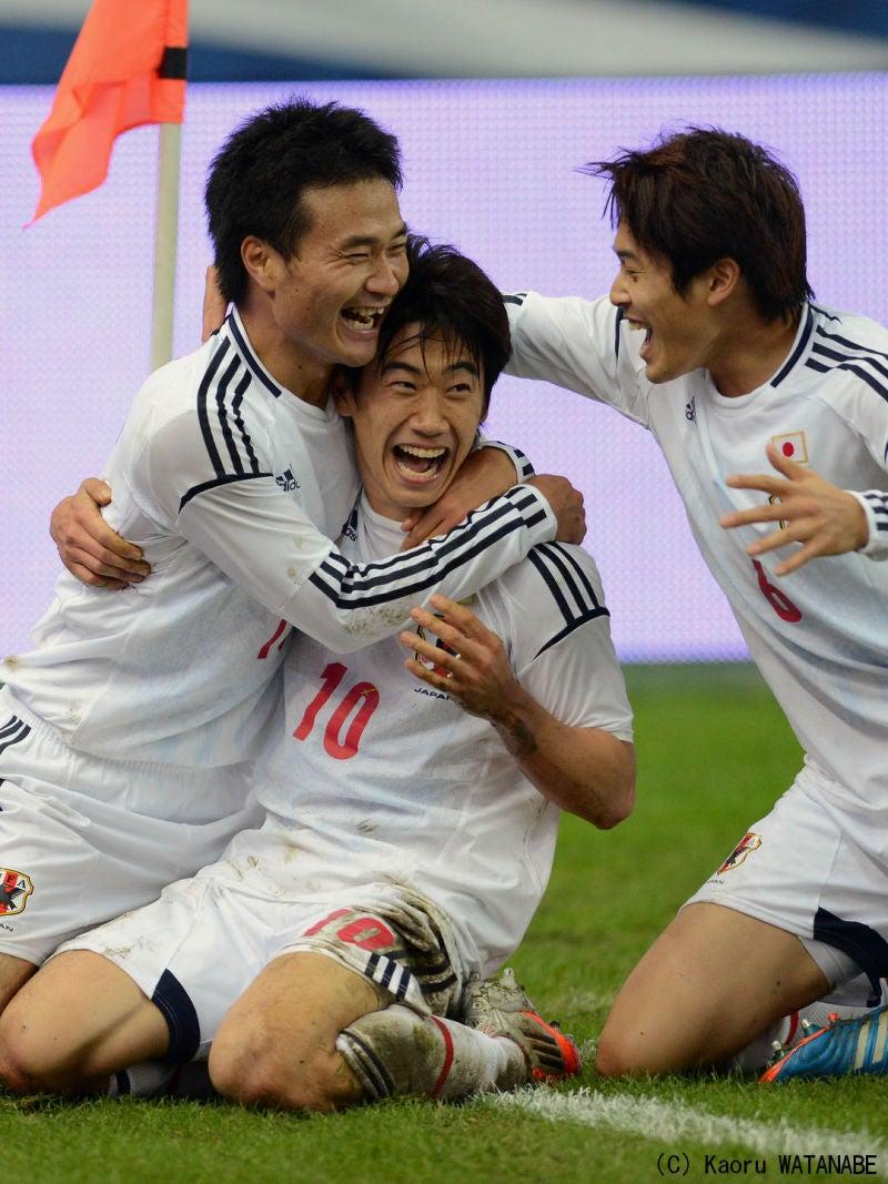 香川真司 日本代表 フランス戦