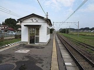 晴れのち曇り時々Ameブロ-東北本線安達駅