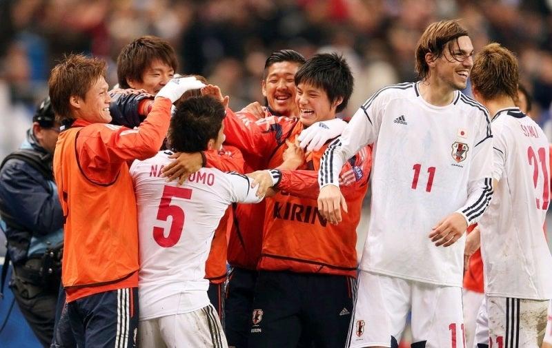 サッカー 日本代表 ヨーロッパ遠征 フランス戦
