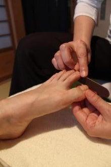 「爪から体の健康を作ります」 フットケア 天川☆京都・四条烏丸