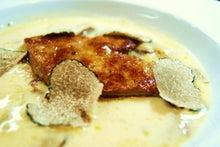 食べて飲んで観て読んだコト+レストラン・カザマ-キノコとフォアグニ