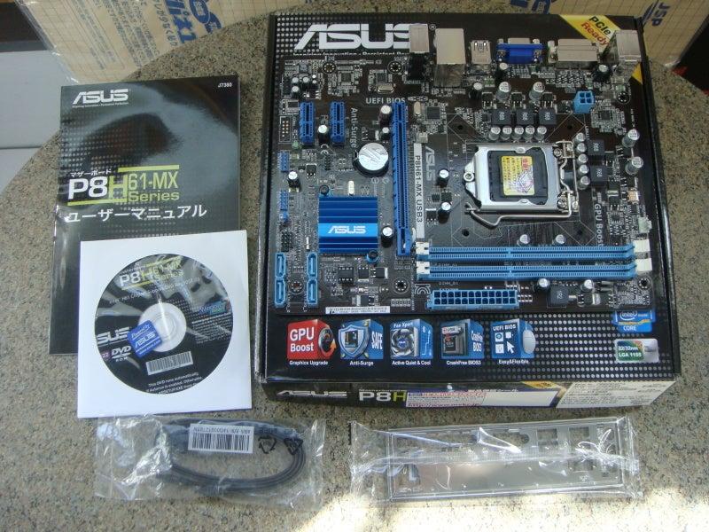 新製品 ASUS P8H61-MX USB3 その他! | データーアシスト