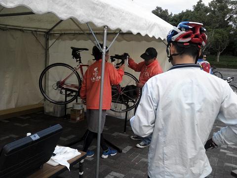 お気楽自転車生活-シマノブース