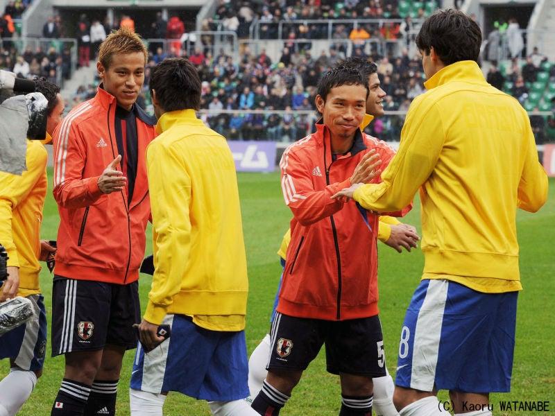 サッカー 日本代表 ヨーロッパ遠征 ブラジル戦