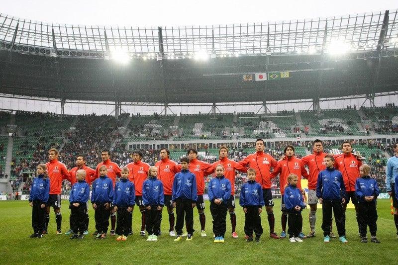 サッカー日本代表 ブラジルワールドカップ