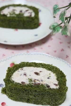 風色のダイアリー-抹茶のロールケーキ