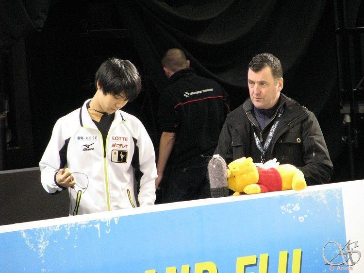 浅田真央&長洲未来応援ブログ-羽生選手とオーサーコーチwithプーさん