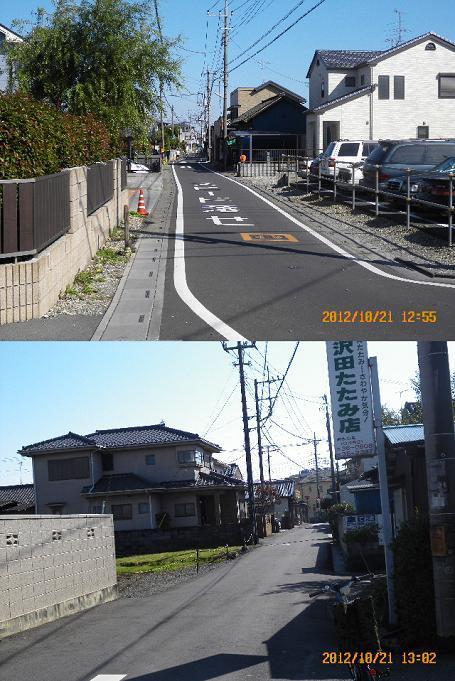 街や交通網の盛衰を記録する....警「美」報 告 書 ☆彡   ▼CAMMIYA-上福岡121021093