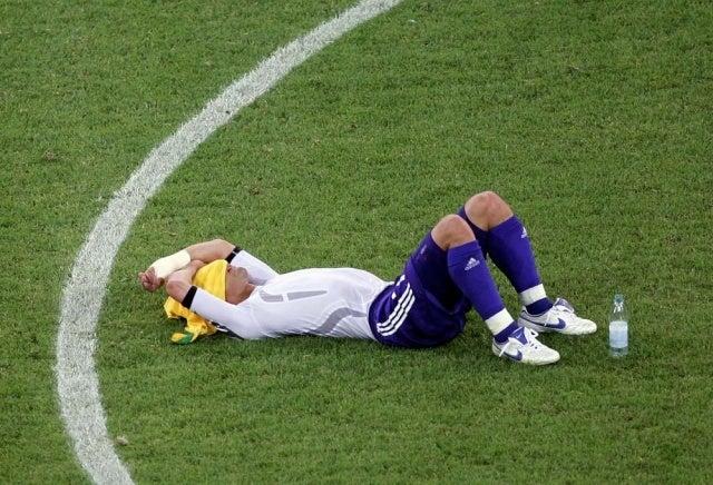 ドイツワールドカップ 予選敗退 日本代表