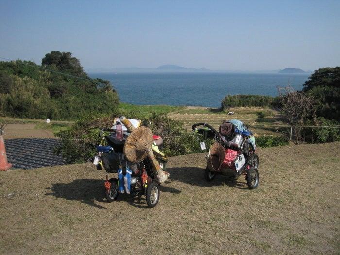 歩き人ふみの徒歩世界旅行 日本・台湾編-海