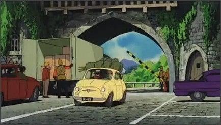 GABRIEL's Blog-カリオストロの城FIAT500