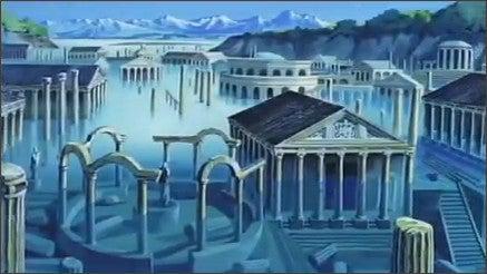 GABRIEL's Blog-カリオストロの城湖底のローマ