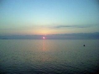 Dr.ミーヤンの下手っぴい釣りブログ-浜分の朝日