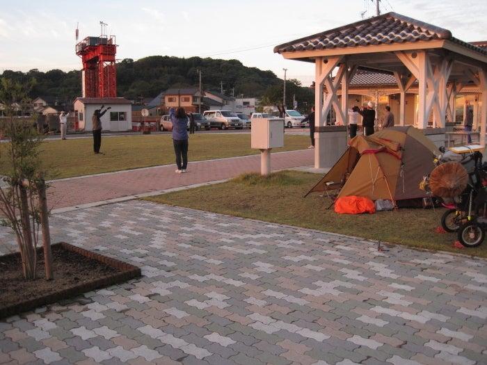 歩き人ふみの徒歩世界旅行 日本・台湾編-ラジオ体操