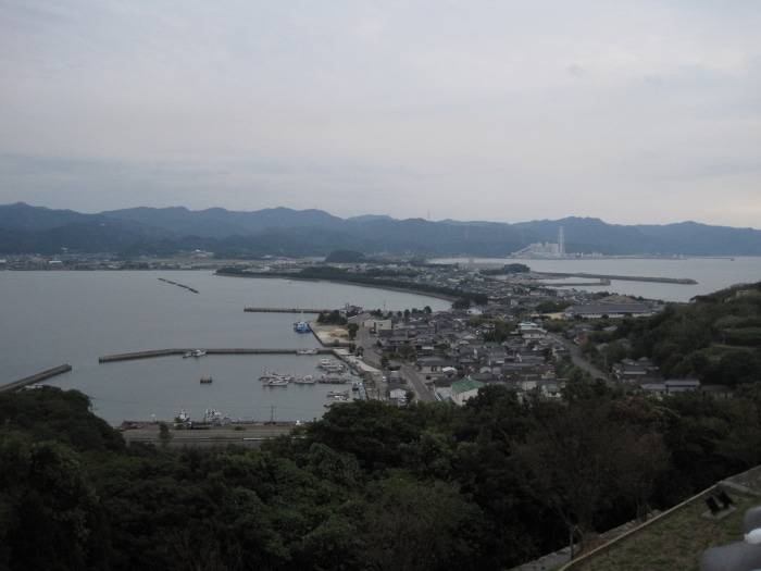 歩き人ふみの徒歩世界旅行 日本・台湾編-半島の付け根