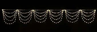 $イルミネーションの販売&通販shop-LEDロングドレープのクリスマスイルミネーション