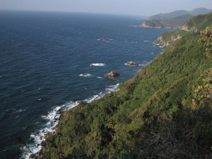 $歩き人ふみの徒歩世界旅行 日本・台湾編-天草の海岸