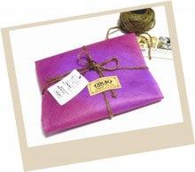 OXIO-CRAFT(オキクラ)の「革雑貨」制作日記-ロディアメモカバー
