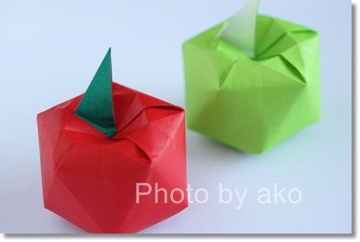 バラ 折り紙 折り紙 りんご : ameblo.jp