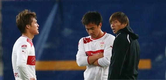 サッカー日本代表 岡崎慎司 酒井高徳 乾貴士 シュトゥットガルト フランクフルト