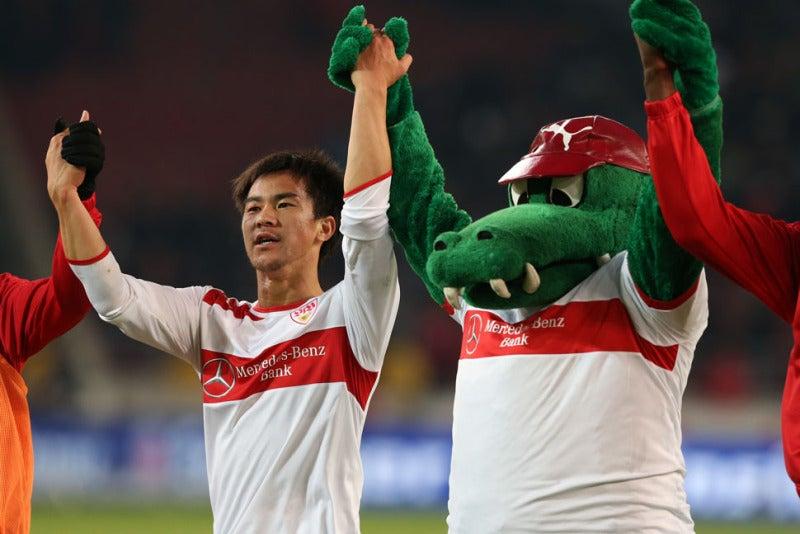 サッカー日本代表 岡崎慎司 シュトゥットガルト フランクフルト