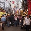上野のアメ横で食べ歩…