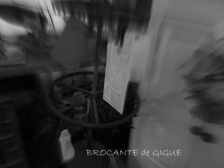 $BROCANTE  de  GIGUE 店長日記