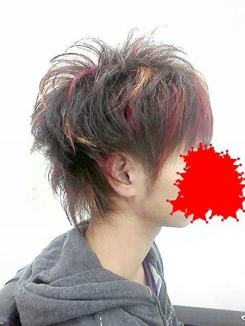 カラー記事 赤メッシュ 黄メッシュ 広島メンズヘアーならヘア ...