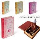 CANVAS Empty Book キャンバスエンプティーブック  【Sax(249087) /Red(251080) /Purple(252087)/Yellow(253084)】 PUEBCO プエブコ 洋書 小物入れ 本型ボックス
