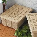【S サイズ】【ポイント10倍】【HIGHTIDE】ハイタイド MOLDED PULP BOX-S / パルプボックス Sサイズ / 収納ケース / 収納ボックス