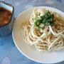 大豆麺のつけ麺(温か…