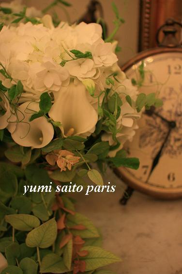 パリで花仕事