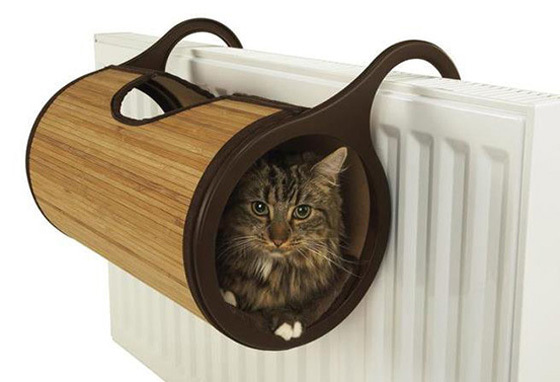 (Jolly Moggy) Bamboo Cat Radiator Bed