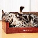 【おもちゃセール】MJUガリガリラウンジ 【当店人気グッズ】いつでもつめとぎリラックス☆ネコちゃん専用のラウンジタイプの爪とぎです♪またたび付