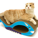 猫の爪とぎ カードボードスクラッチャー フィッシュMarathon10P03nov12