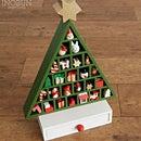 クリスマス ハウスツリー 木製アドベントツリー