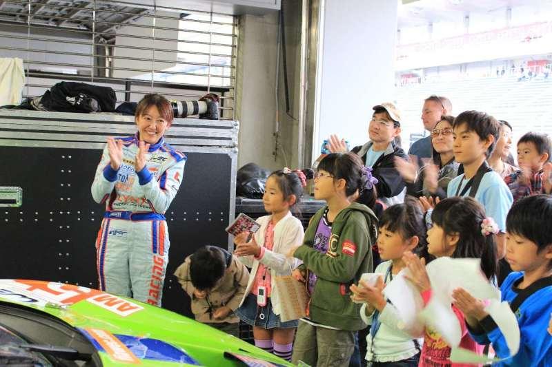 $レーシングドライバー井原慶子のおもいっきり行こう!