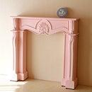 輸入家具■オーダー家具■マントルピース■シェル■W120■バービーピンク色