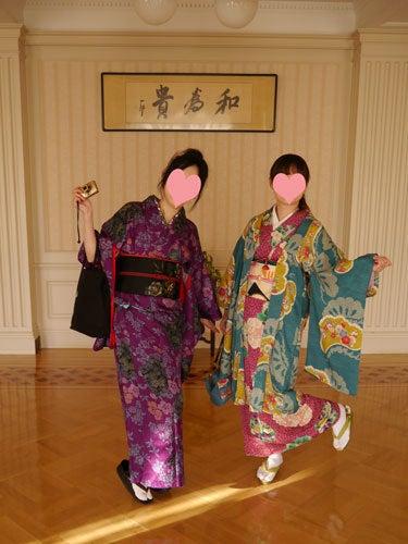 東京で着物ライフを楽しむ会 ~東京きものライフ~-大広間で踊ってみる