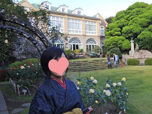 東京で着物ライフを楽しむ会 ~東京きものライフ~-鳩山会館所有者風?その3