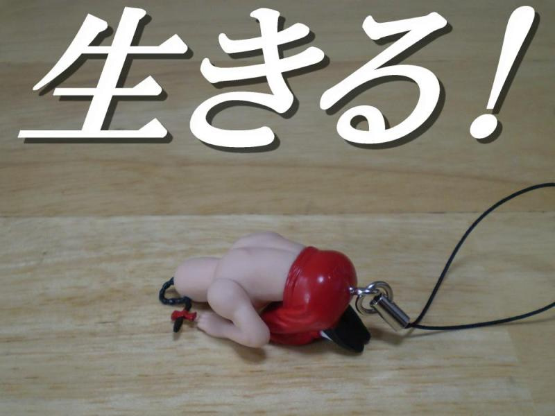 玩具の人-ラーメンマン (キン肉マン土下座ストラップ)