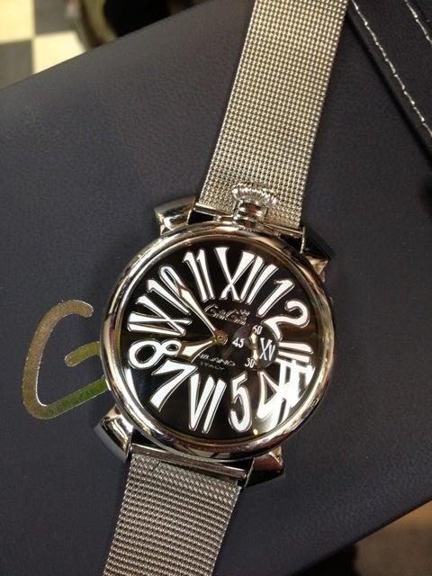 64dc439e0620 最上の品質 ガガミラノ GAGA MILANO 腕時計 MANUALE 48MM - 18K PVD 時計 ...