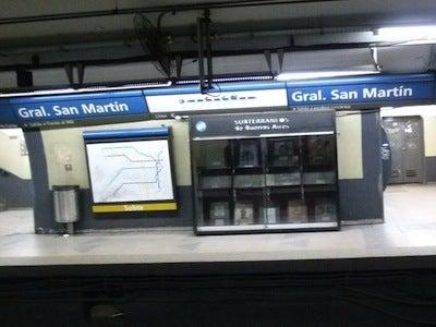 サンマルティン駅