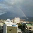 桜島と虹とジュブリー…