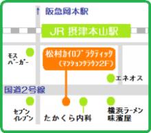 東灘カイロプラクター 松村のブログ-map