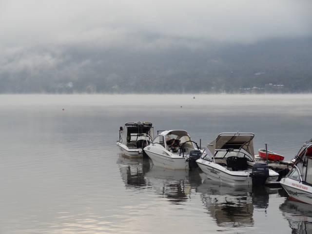 ルークのブログ-山中湖 1