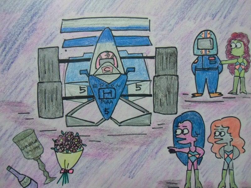 umibo  ~20年の時をへて今蘇る~-F1レーサー