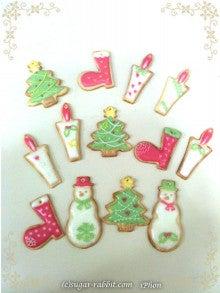 $東京都内で自宅教室 アイシングクッキー、シュガークラフト、スイーツデコ教室の『シュガー・ラビット』-クリスマスレッスンのお知らせ