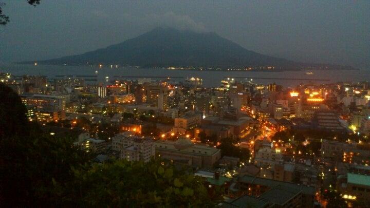 $歩き人ふみの徒歩世界旅行 日本・台湾編-桜島と鹿児島夜景